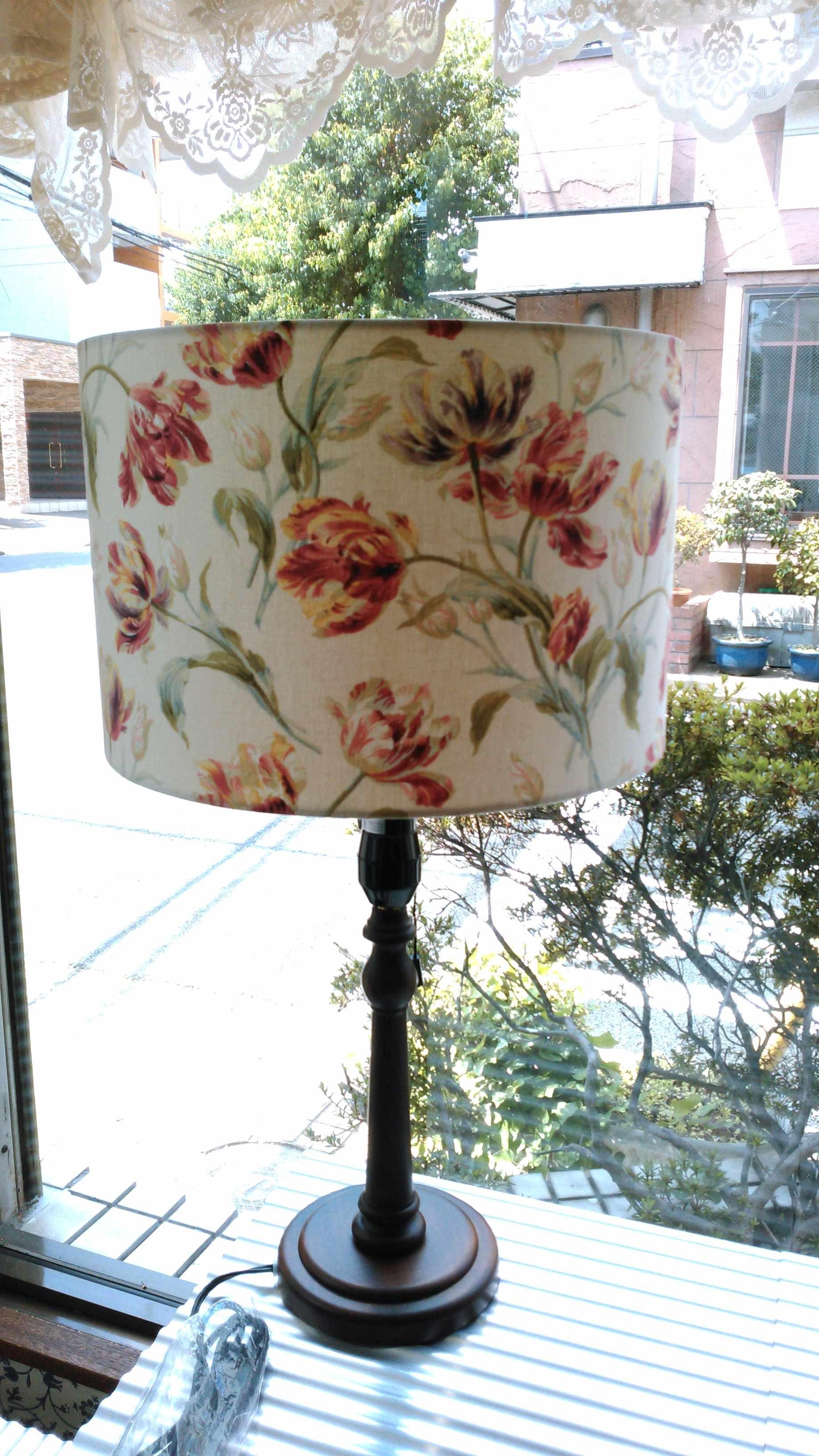ランプシェード 製作 モリス正規販売店のブライト_c0157866_17453971.jpg