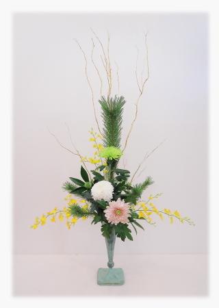 12月のNHK文化センター高等科の花はお正月花_f0185066_11382818.jpg