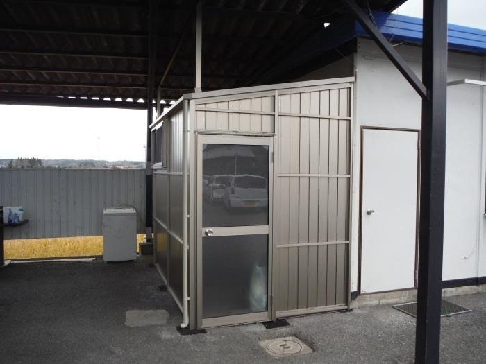 倉庫取付 ~ 工事終了です。_d0165368_02201088.jpg