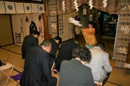 卸センター理事会で神社へ初詣に行きました。_f0141477_09255004.jpg