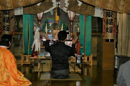 卸センター理事会で神社へ初詣に行きました。_f0141477_09255957.jpg