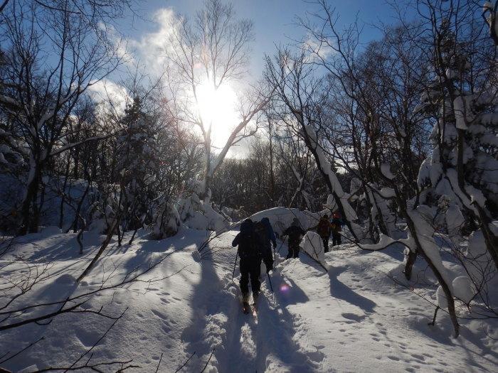 後生掛温泉スキーツアー(1日目)国見台 ~ 2019年12月28日_f0170180_21263151.jpg