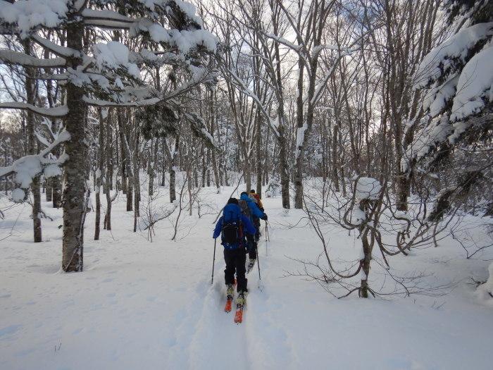 後生掛温泉スキーツアー(1日目)国見台 ~ 2019年12月28日_f0170180_21272637.jpg