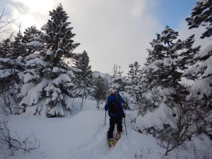 後生掛温泉スキーツアー(1日目)国見台 ~ 2019年12月28日_f0170180_22112468.jpg