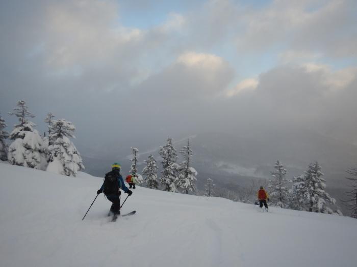 後生掛温泉スキーツアー(1日目)国見台 ~ 2019年12月28日_f0170180_22164911.jpg