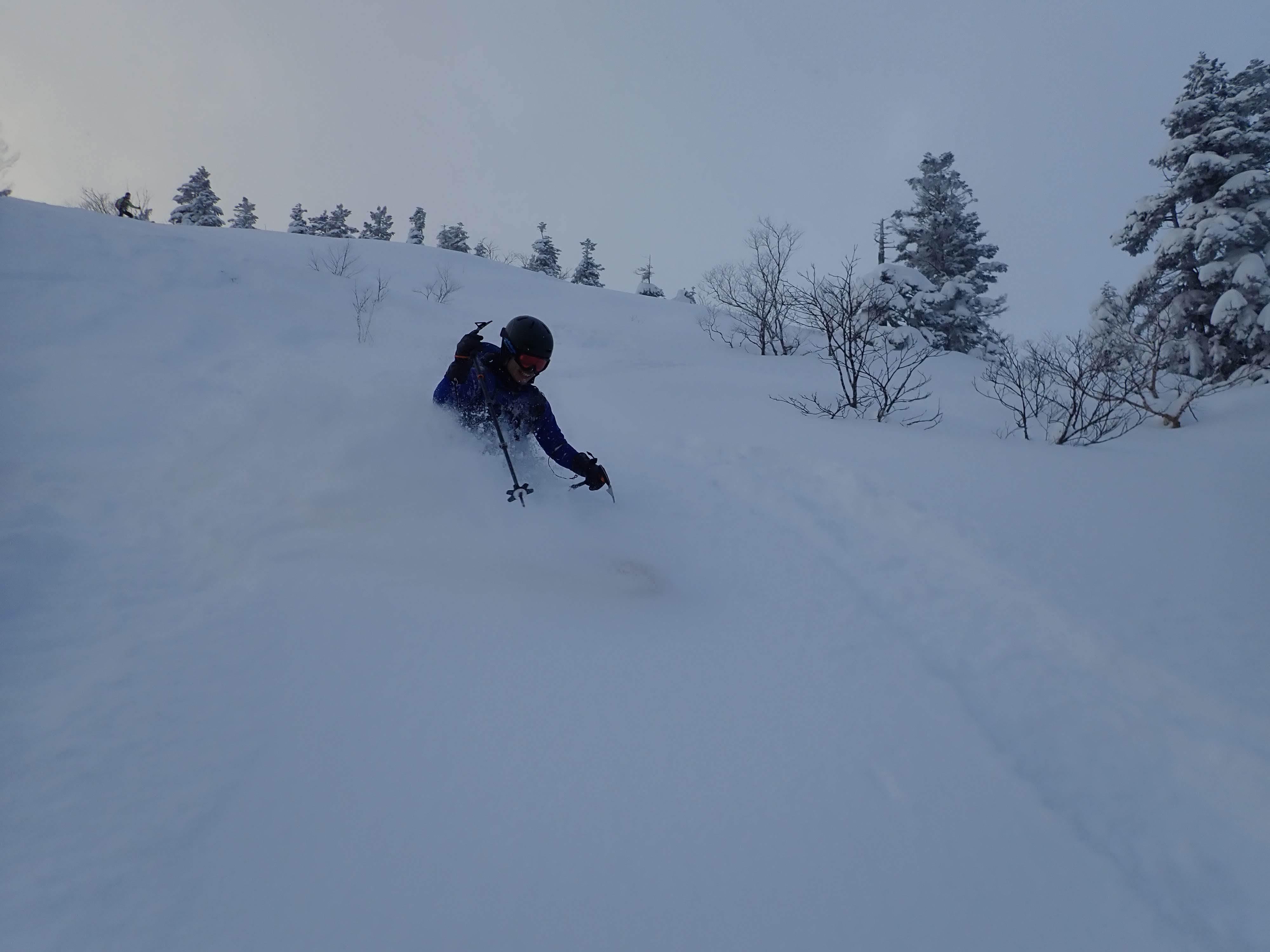 後生掛温泉スキーツアー(1日目)国見台 ~ 2019年12月28日_f0170180_23443000.jpg
