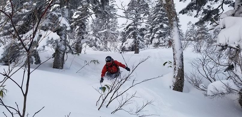 後生掛温泉スキーツアー(1日目)国見台 ~ 2019年12月28日_f0170180_23493316.jpg