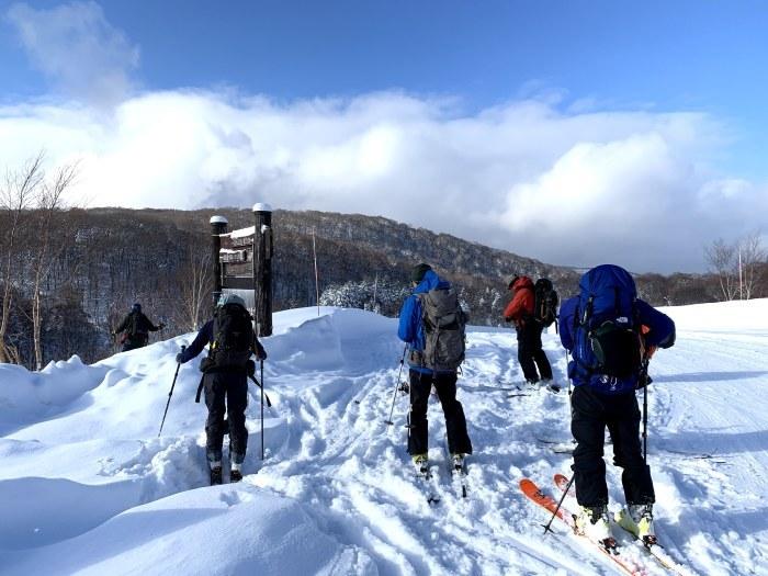 後生掛温泉スキーツアー(1日目)国見台 ~ 2019年12月28日_f0170180_23570560.jpg