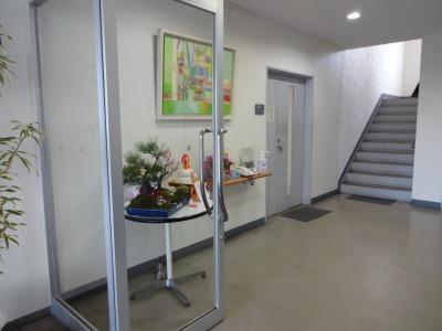 正月用寄せ植え盆栽の展示の様子_d0338682_16553488.jpg