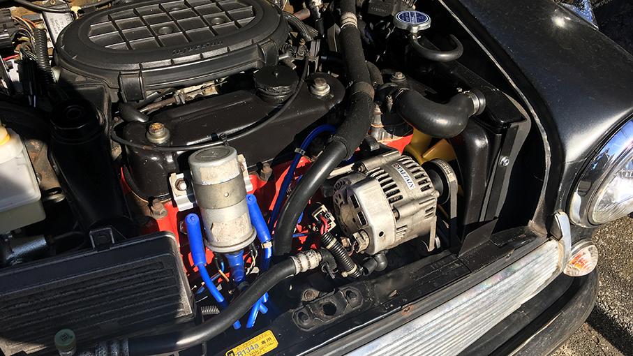 Miniのエンジン交換_b0061387_22191983.jpg