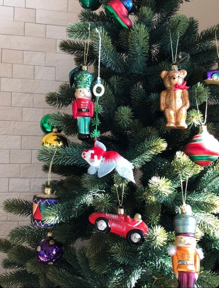 刺繍金魚のクリスマスオーナメント(^^)_e0385587_22033907.jpeg