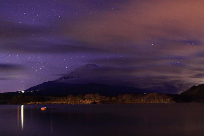 令和2年1月の富士 (1) 精進湖の初日の出の富士_e0344396_21295119.jpg