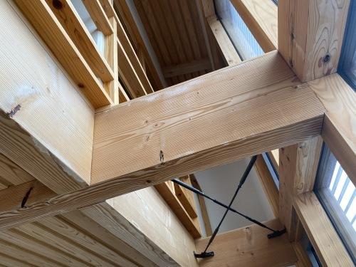 Q1住宅L3:モデル能代ホウ酸塗り拭き取り_e0054299_10200809.jpg