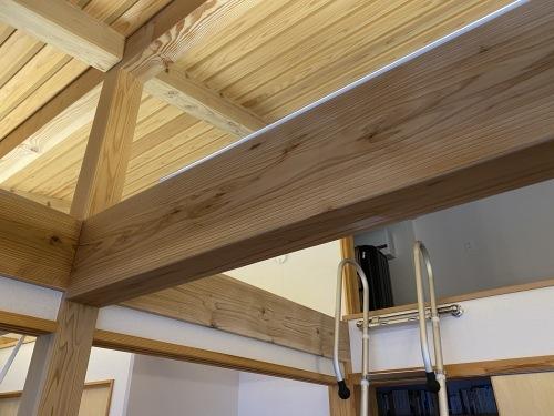 Q1住宅L3:モデル能代ホウ酸塗り拭き取り_e0054299_10201548.jpg