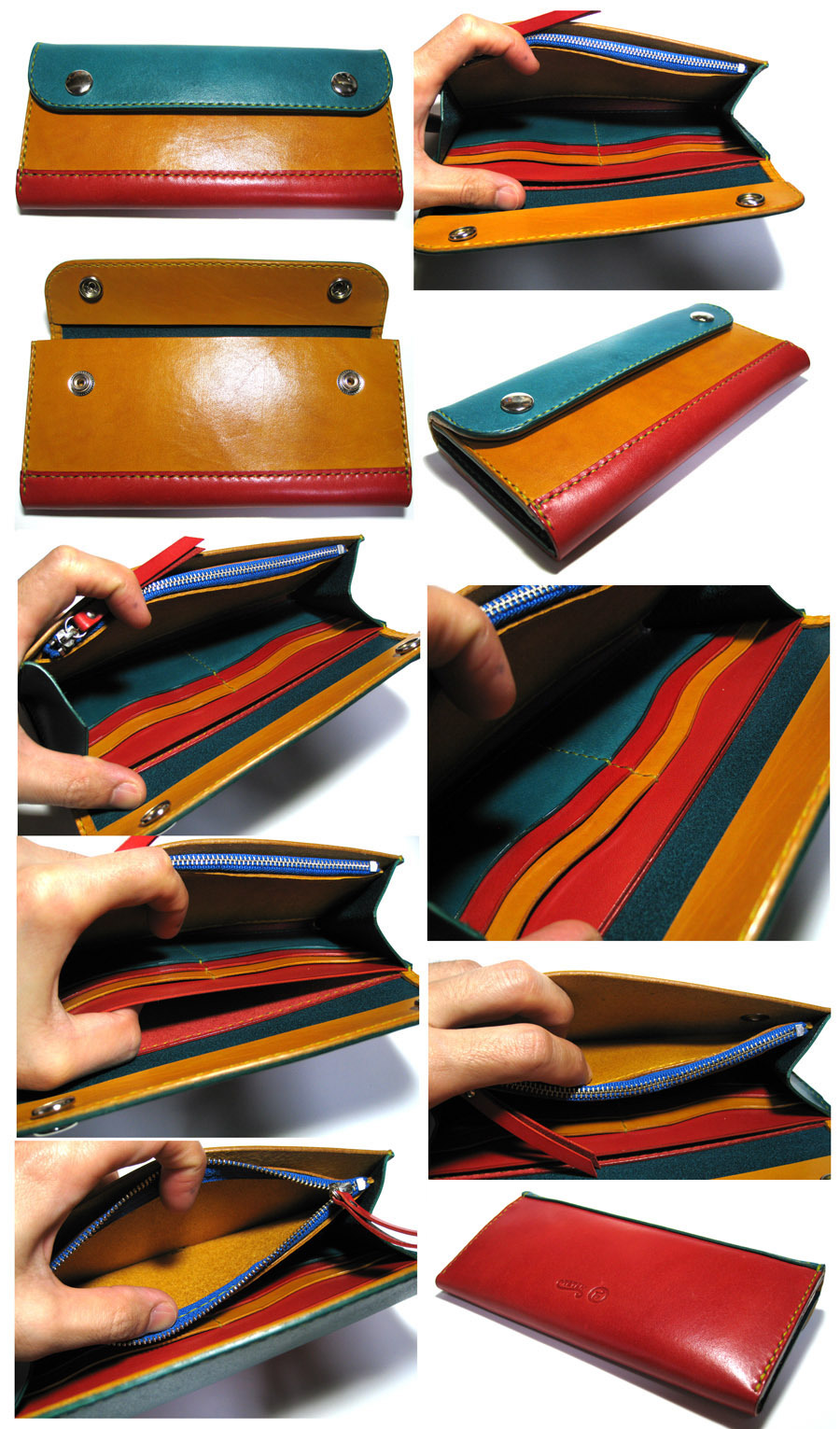 Long Wallet 7  ¥27,500   20cm x 9.5cm x2.5cm   _f0130303_15243558.jpg