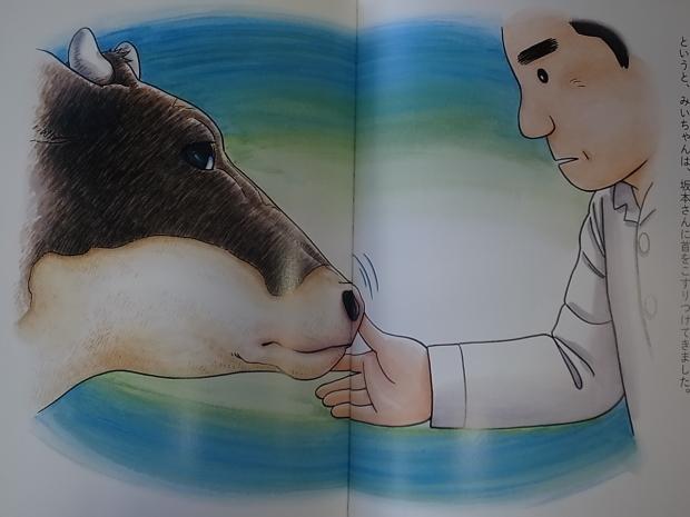 いのちをいただく みいちゃんがお肉になる日 坂本義喜原案、内田美智子作、魚戸おさむとゆかいななかまたち絵_f0197703_16433930.jpg