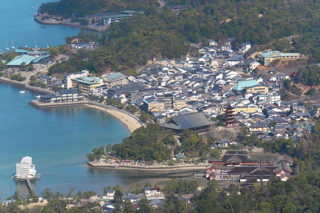 宮島弥山・駒ヶ林・前峠山を歩く(2020/01/05)_b0393210_05315454.jpg