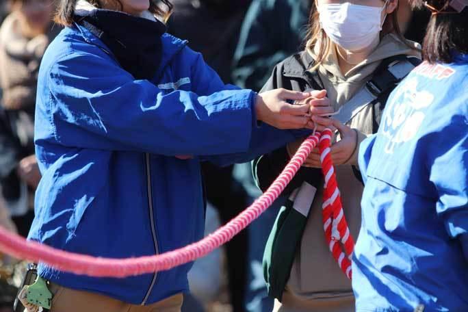 新春!動物パレード2020その3~干支引継ぎ:ハツカネズミはロープを渡ったか!? _b0355317_21393414.jpg