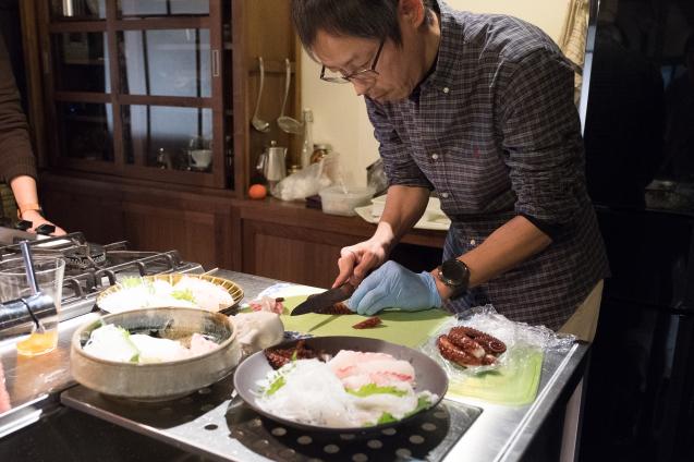 小豆島のお刺身とクラフトビールの会_e0369736_10262657.jpg