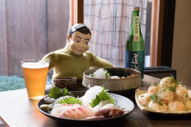 小豆島のお刺身とクラフトビールの会_e0369736_10265560.jpg