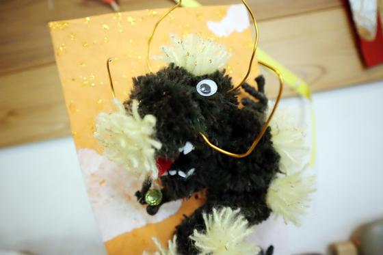 ポンポン人形 ~ 昇り龍 ~_e0222340_15374475.jpg