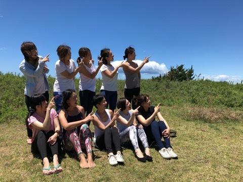 待ちきれず! Beach Mayu Yoga 2020@葉山一色海岸 始まります♪_a0267845_15175057.jpg