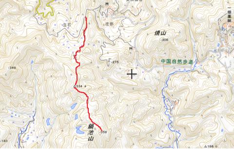 日本海側から鍋池山(358m)往復トレラン_d0007657_19552618.png