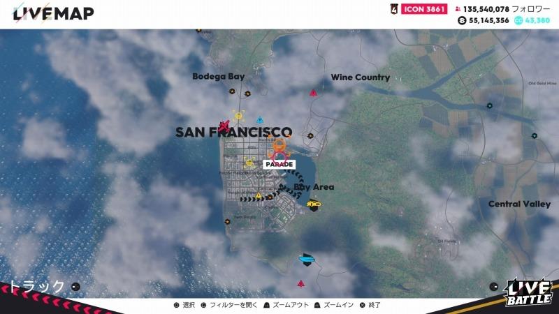 ゲーム「THE CREW2 サンフランシスコ港のバトルシップとCarrera GT Green Flash Edition」_b0362459_17235277.jpg