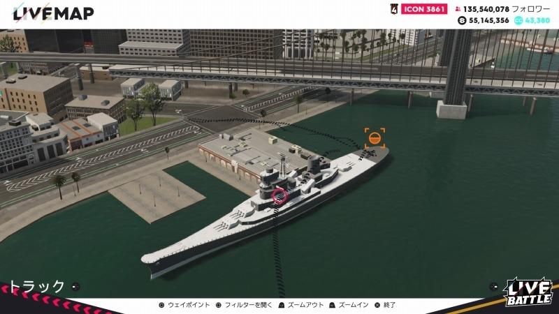 ゲーム「THE CREW2 サンフランシスコ港のバトルシップとCarrera GT Green Flash Edition」_b0362459_17244816.jpg