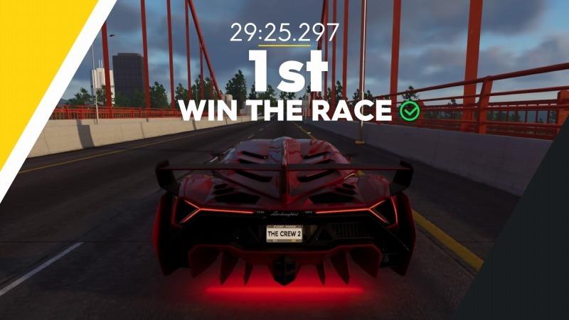 ゲーム「THE CREW2 サンフランシスコ港のバトルシップとCarrera GT Green Flash Edition」_b0362459_17304921.jpg