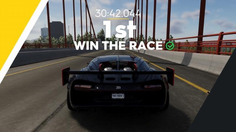 ゲーム「THE CREW2 サンフランシスコ港のバトルシップとCarrera GT Green Flash Edition」_b0362459_17323123.jpg