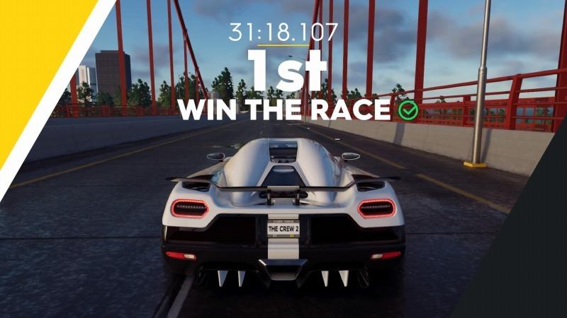 ゲーム「THE CREW2 サンフランシスコ港のバトルシップとCarrera GT Green Flash Edition」_b0362459_17373130.jpg