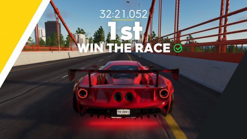ゲーム「THE CREW2 サンフランシスコ港のバトルシップとCarrera GT Green Flash Edition」_b0362459_17381794.jpg