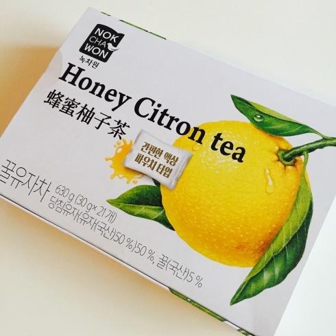 韓国のタワシと新羅免税店の柚子茶♪_f0054260_18035136.jpg