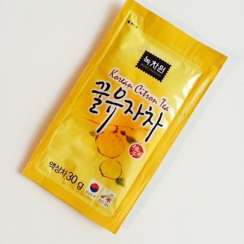 韓国のタワシと新羅免税店の柚子茶♪_f0054260_18054014.jpg