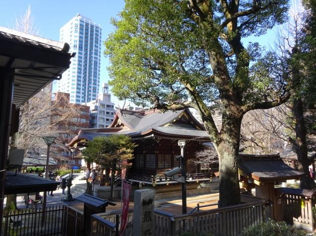 「ハイアットリージェンシー東京」に無料宿泊 (3) 初詣_b0405262_22582570.jpg