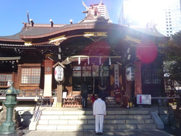「ハイアットリージェンシー東京」に無料宿泊 (3) 初詣_b0405262_22583913.jpg