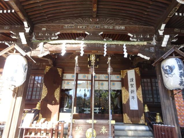 「ハイアットリージェンシー東京」に無料宿泊 (3) 初詣_b0405262_22585232.jpg