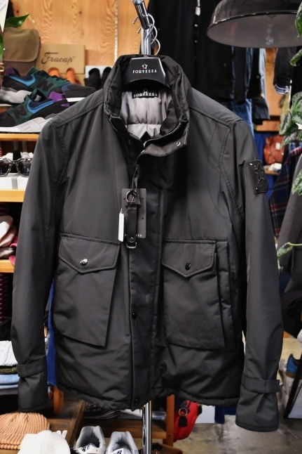 FORTEZZA Italy  STAND PUFF JACKET_d0152280_11114139.jpg