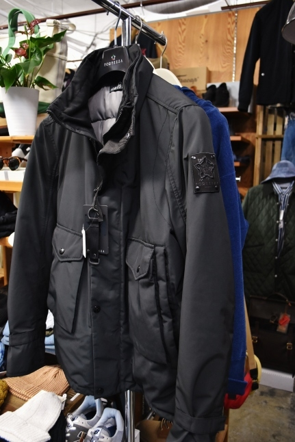 FORTEZZA Italy  STAND PUFF JACKET_d0152280_11122936.jpg
