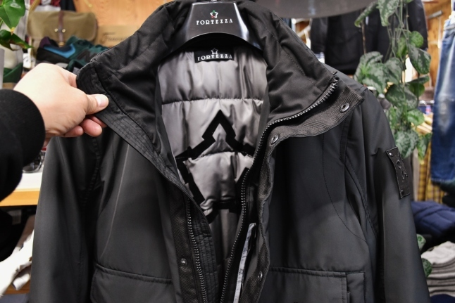 FORTEZZA Italy  STAND PUFF JACKET_d0152280_11124653.jpg