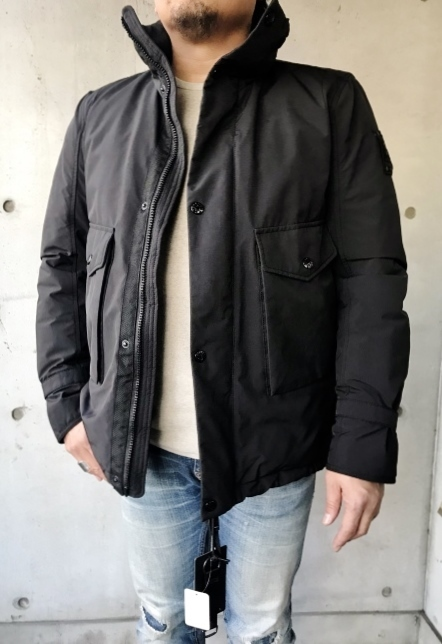 FORTEZZA Italy  STAND PUFF JACKET_d0152280_11172198.jpg