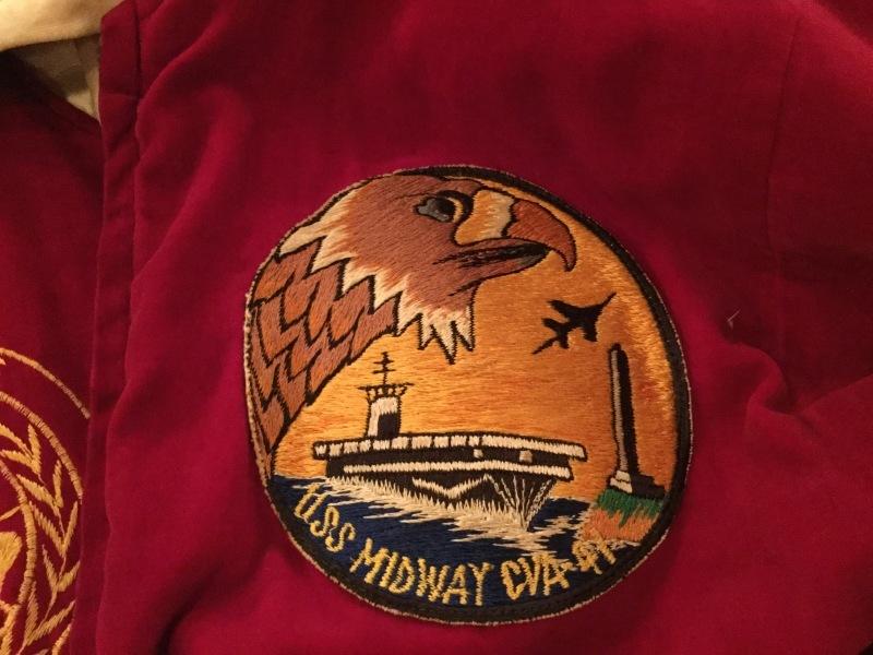1955s USS Midway CVA-41 Souvenir Jacket_c0226387_12355648.jpeg