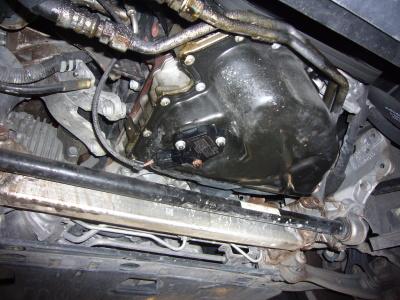 アウディA4 エンジンオイル警告灯点灯 整備_c0267693_18101753.jpg