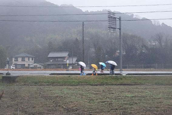 雨で始まる3学期_b0145296_08593884.jpg