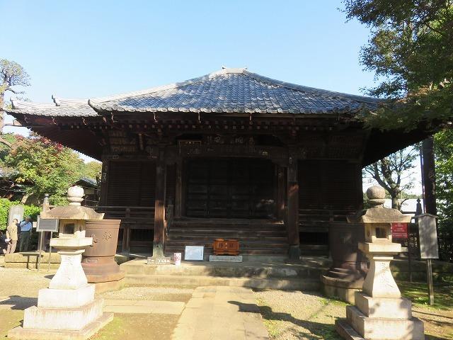 護国寺①(新江戸百景めぐり56-1)_c0187004_18501012.jpg