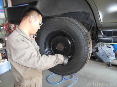 KZJ95Wプラド 納車整備中( ˆoˆ )ʃ_c0213517_15273224.jpg