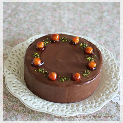 2月のお菓子・チョコレートケーキ2018_a0392423_00150241.jpg