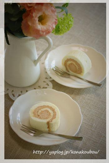 コーヒークリームの卵白ロール_a0392423_00150318.jpg