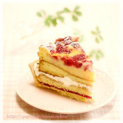4月のお菓子・ベリーのクラフティ風タルト_a0392423_00151157.jpg